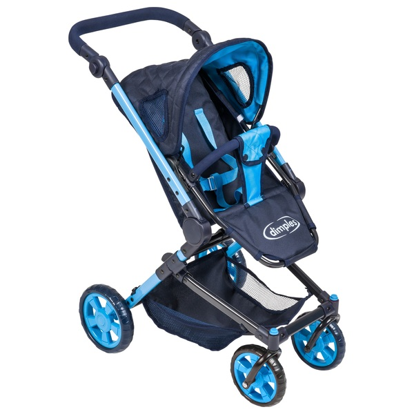 3 in 1 Maddison Travel Stroller Blue/Navy