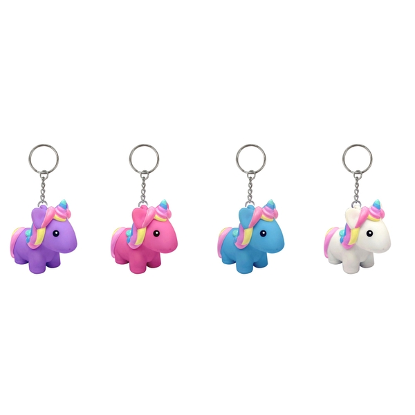 Animolds Poopoo Unicorn Keyring