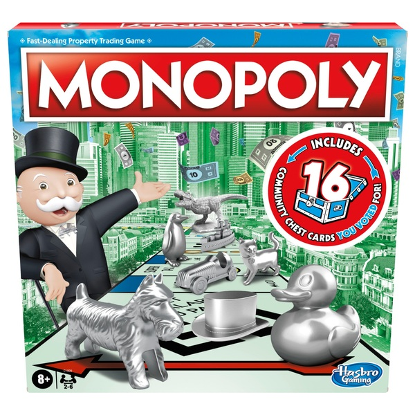 Monopoly Classic Irish Edition Game Hasbro Board Games