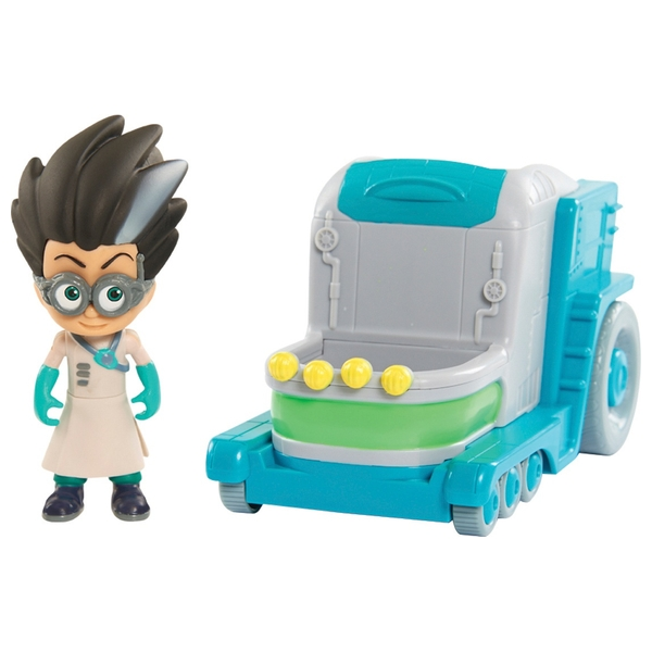 Romeo's Lab - PJ Masks Vehicle & Figure