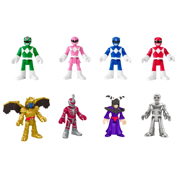 Fisher-Price Imaginext Power Rangers 8 Figure Pack