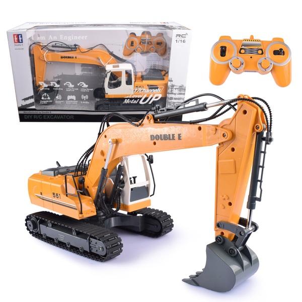 1:16 Radio Control Excavator - Remote Control Farm and Construction  Vehicles UK