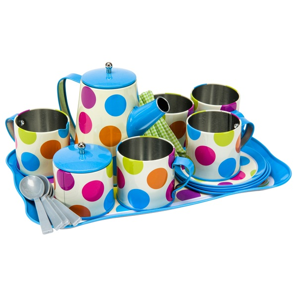 22pcs Tin Coffee Set