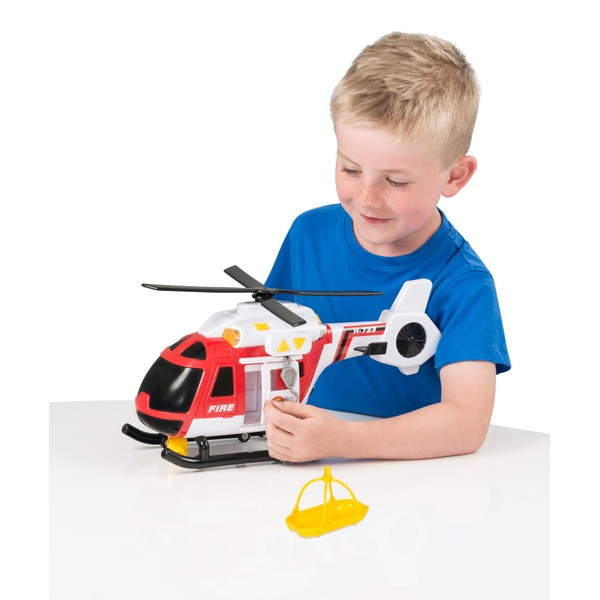 Teamsterz Light and Sounds Fire Helicopter