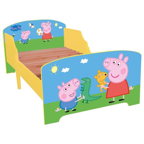 Peppa Pig Toddler Bed - Sleep Time Essentials UK