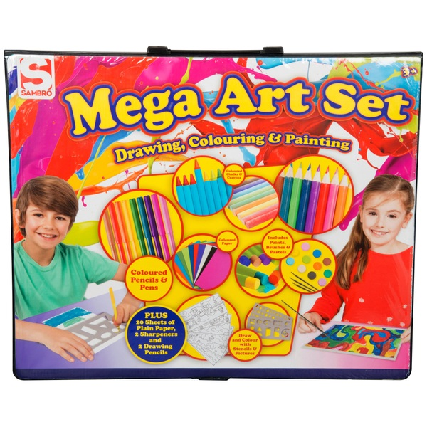 250 Piece Art Case