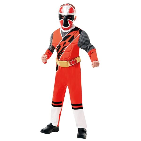 Power Ranger Ninja Steel Red Deluxe