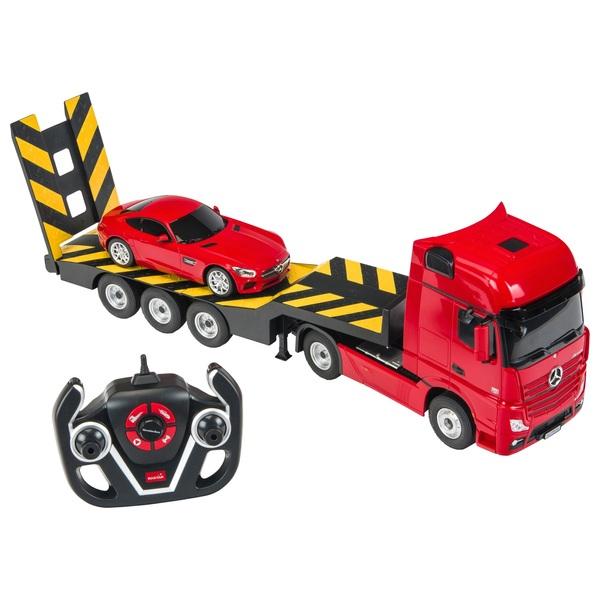 1:26 Merc-Benz Actros Truck Transporter