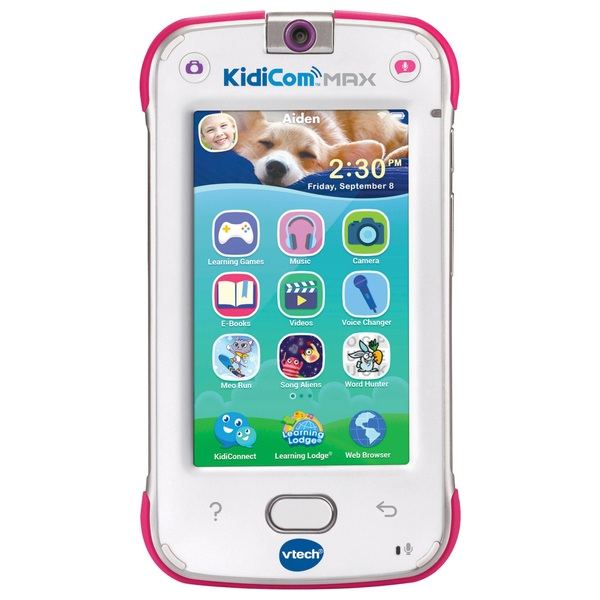 Vtech Kidicom Max Pink Vtech Learning Consoles Uk
