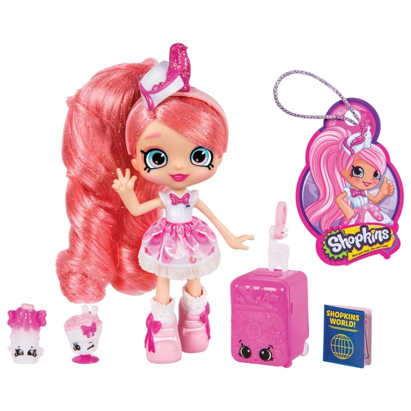 Shopkins Shoppies World Tour Themed Doll Pinkie Cola