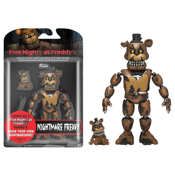Five Nights at Freddy's Nightmare Freddy Figure 13cm