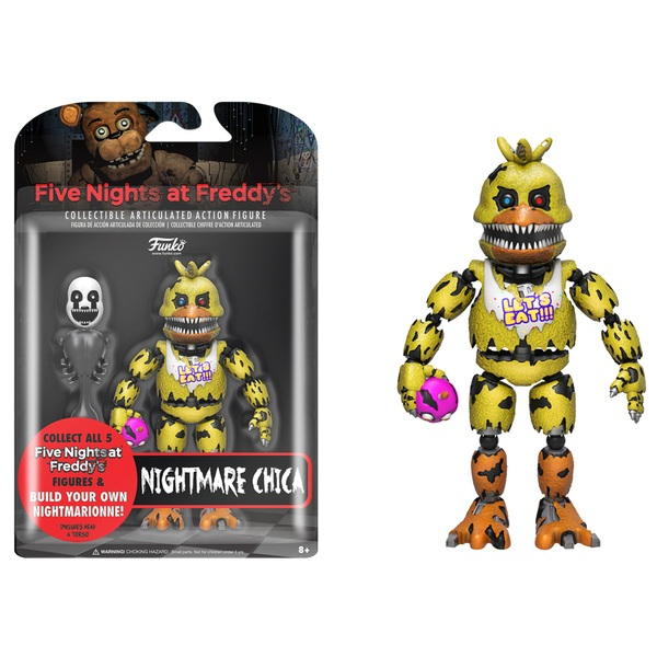 Five Nights at Freddy's Nightmare Chica Figure 13cm