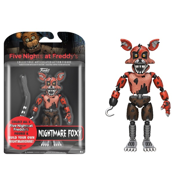 Five Nights at Freddy's Nightmare Foxy Figure 13cm