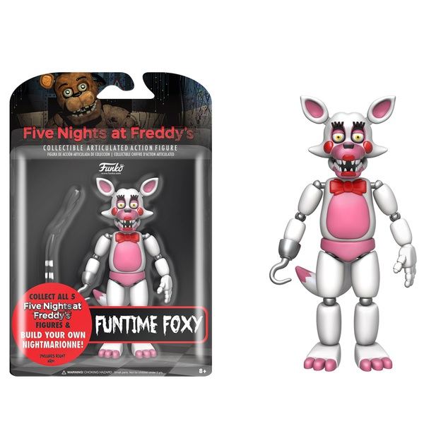 Five Nights at Freddy's Nightmare Funtime Foxy Figure 13cm