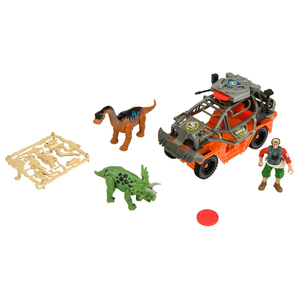 Dino Valley Attack Jeep Playset
