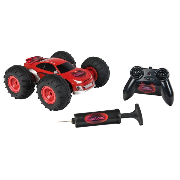 All Terrain Cyclone Red Remote Control Car