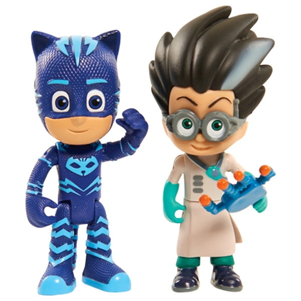 PJ Masks Light-Up Hero and Villain Pack Catboy and Romeo