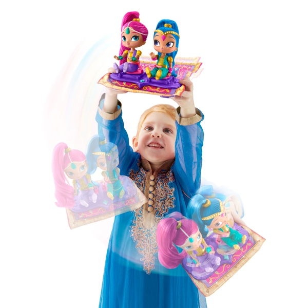 Shimmer and Shine Magic Flying Carpet Doll Playset