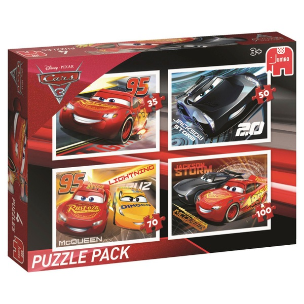 Disney Cars 3 Bumper Puzzle Pack