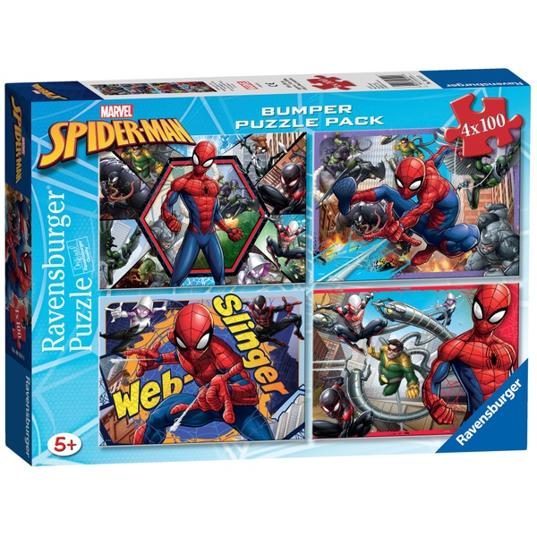Marvel Spider-Man Bumper Puzzle Pack
