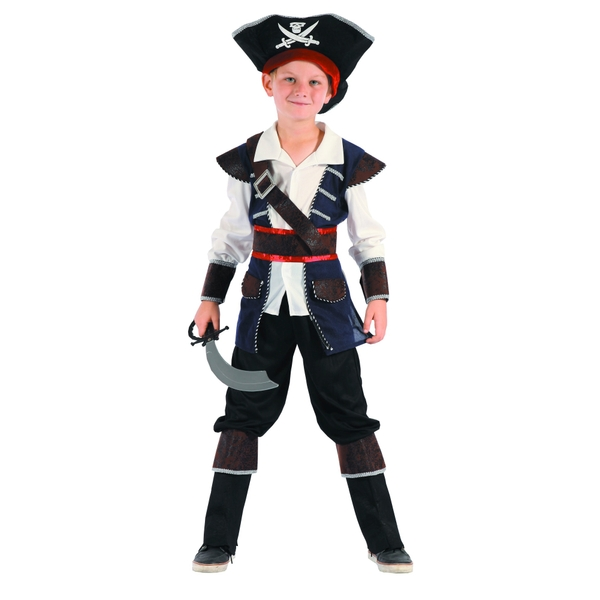 Pirate Toys For Boys : Boys pirate costume size medium costumes play suits uk