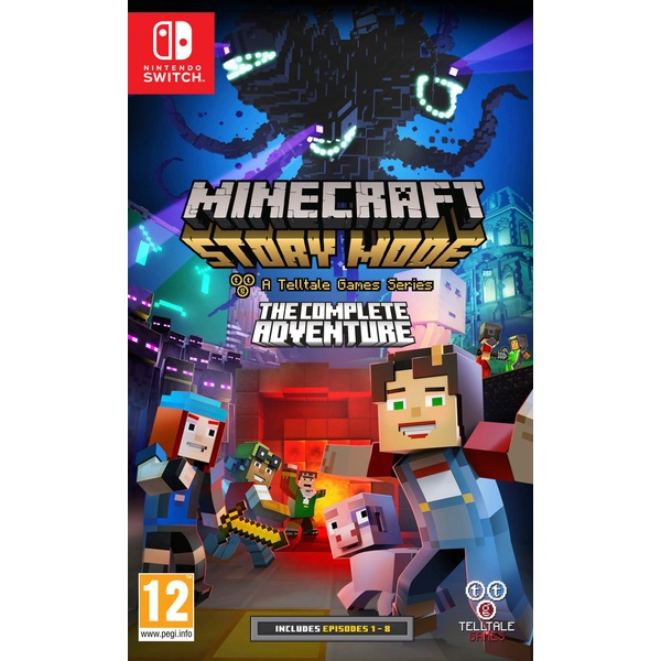Minecraft Story Mode: The Complete Adventure Nintendo Switch