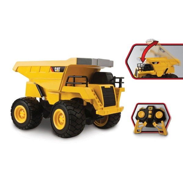 Cat Construction 1:18 Radio Control Dump Truck