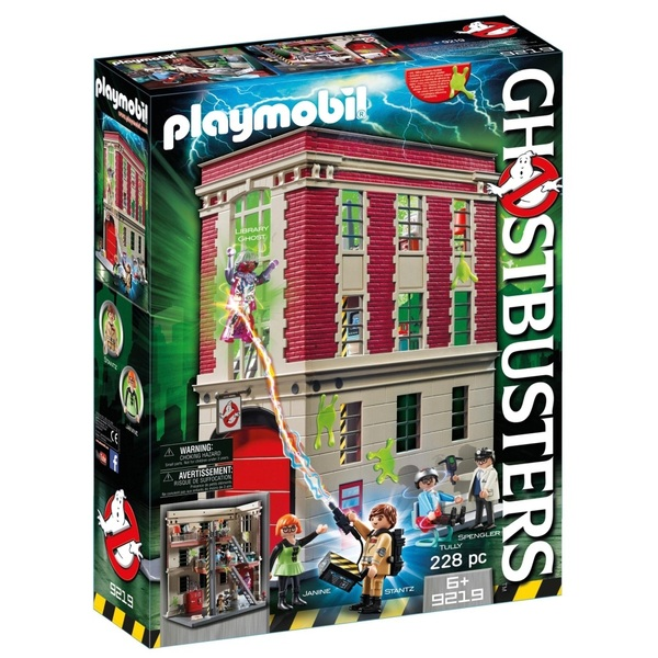 Playmobil 9219 Ghostbusters Fire Hq Playmobil Uk