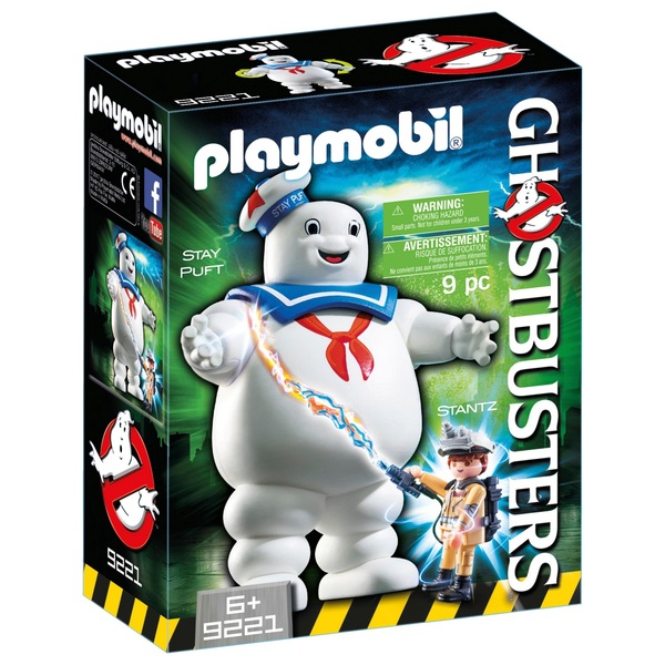 Playmobil 9221 Ghostbusters Stay Puft Marshmallow Man Playmobil