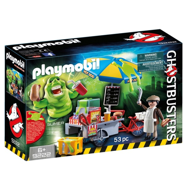 Playmobil 9222 Ghostbusters Hot Dog Stand