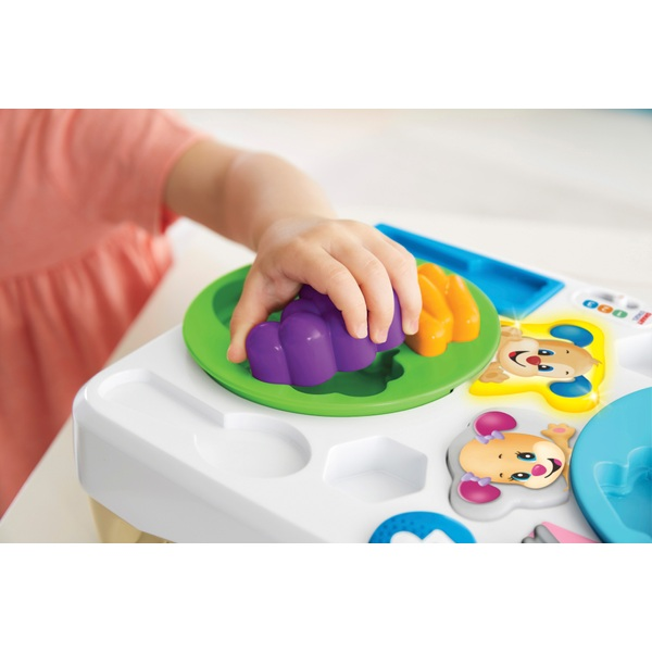 Fisher Price Learning Kitchen: Fisher- Price Say Please Snack Set, Laugh & Learn Toddler