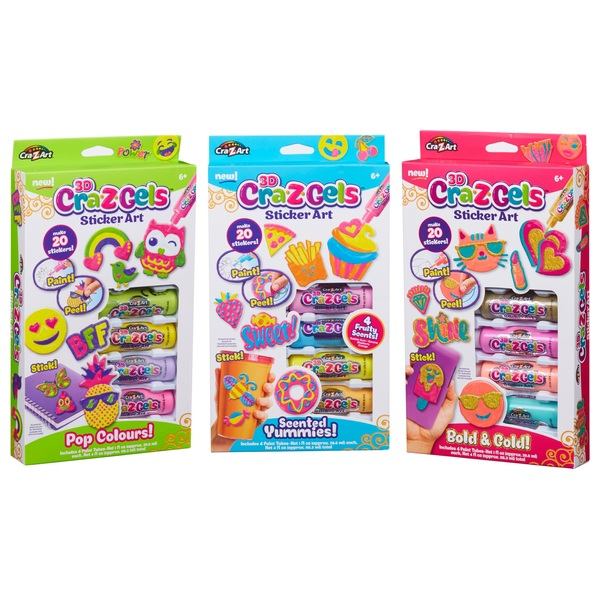 Cra Z Gels Theme Pack