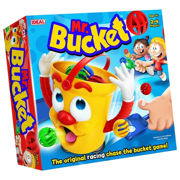 Mr Bucket Action Game