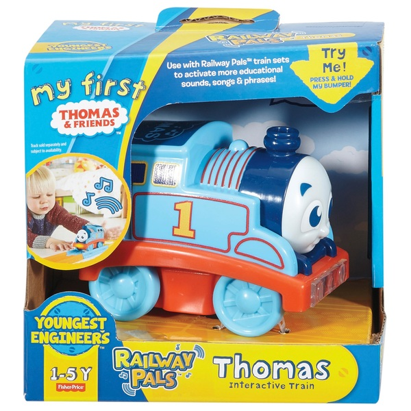 My First Thomas & Friends Railway Pals Interactive Toy Engines Assortment