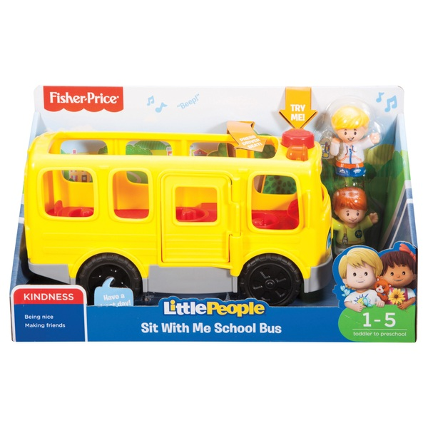 Fisher-Price Little People Sit with Me School Bus - Fisher-Price UK