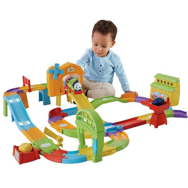 My First Thomas & Friends Railway Pals Destination Discovery Train Set