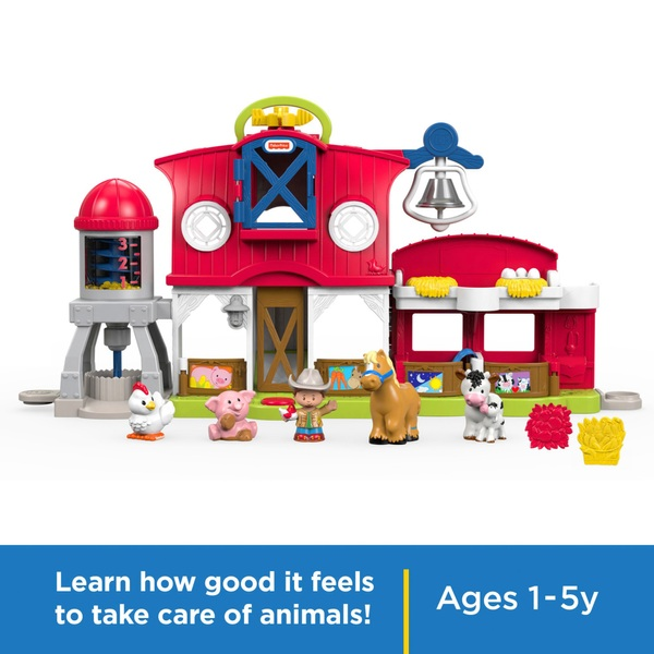 fisher price little people caring for animals farm fisher price uk. Black Bedroom Furniture Sets. Home Design Ideas