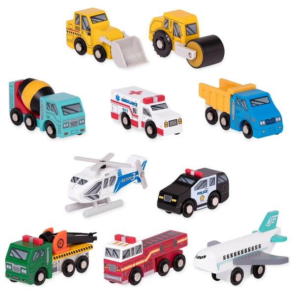 Wooden Vehicles Assortment