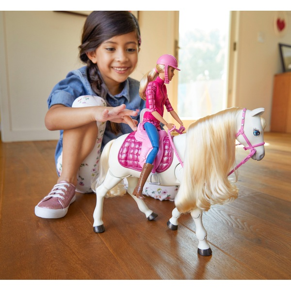 Barbie Dream Horse Doll and Horse