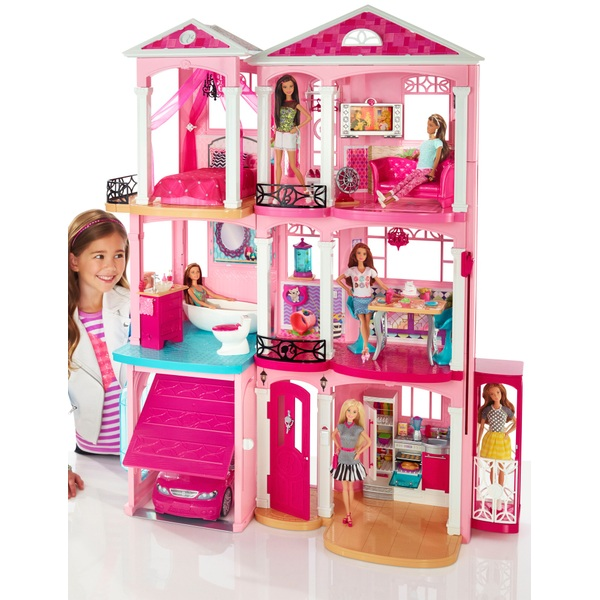 Barbie Dreamhouse Barbie Playsets Range Uk