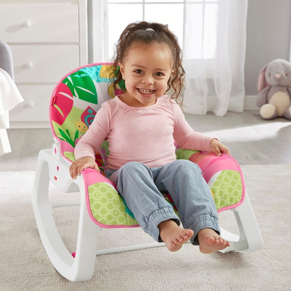 Fisher-Price Infant-to-Toddler Rocker Pink Assortment