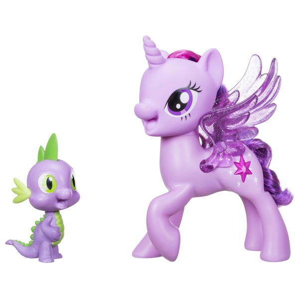My Little Pony Princess Twilight Sparkle and Spike The Dragon Friendship Du