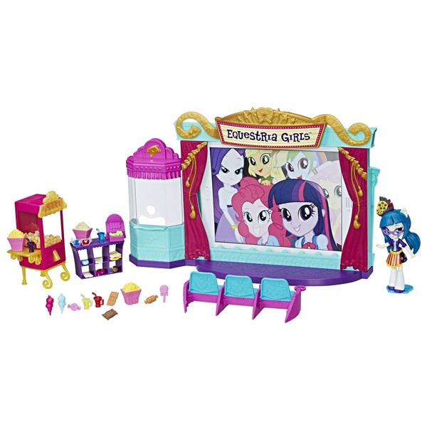 Movie Theatre Playset My Little Pony Equestria Girls Minis