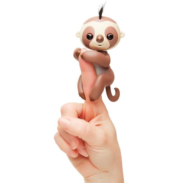 Fingerlings Sloth Brown Kingsley