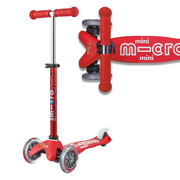 Mini Micro Deluxe Scooter Red