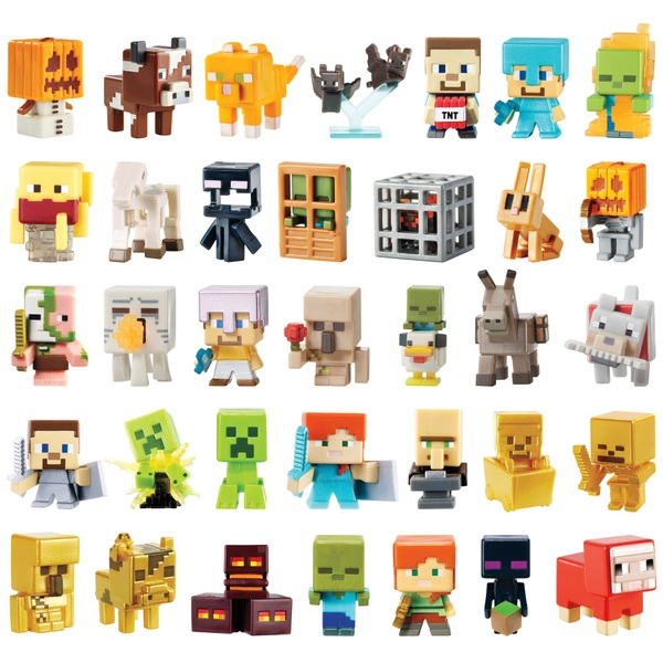 Minecraft Toys And Mini Figures For Kids : Minecraft chest series figures assortment pocket money uk