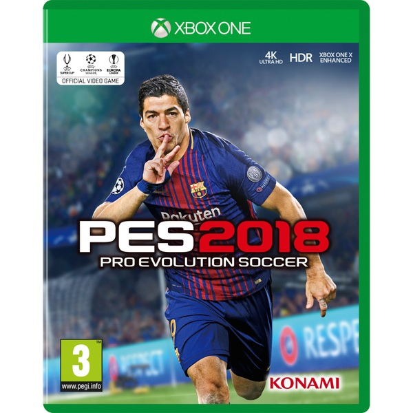 Pes 2018 Xbox One Pes 2018 Video Game Uk