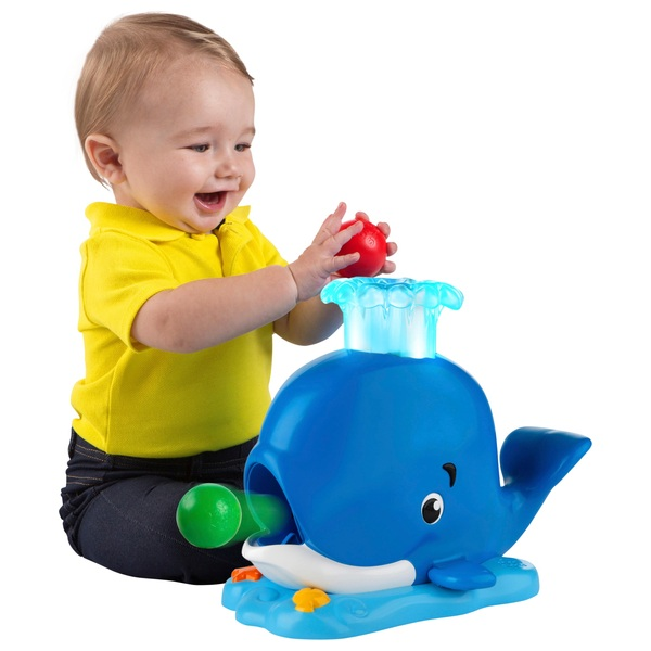 Bright Starts Having a Ball Silly Spout Whale Popper