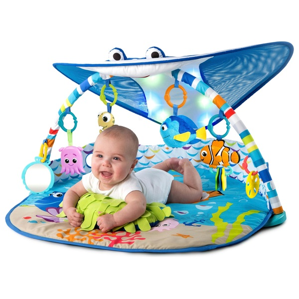 Brights Starts Disney Baby Finding Nemo Mr. Ray Ocean Lights Activity Gym