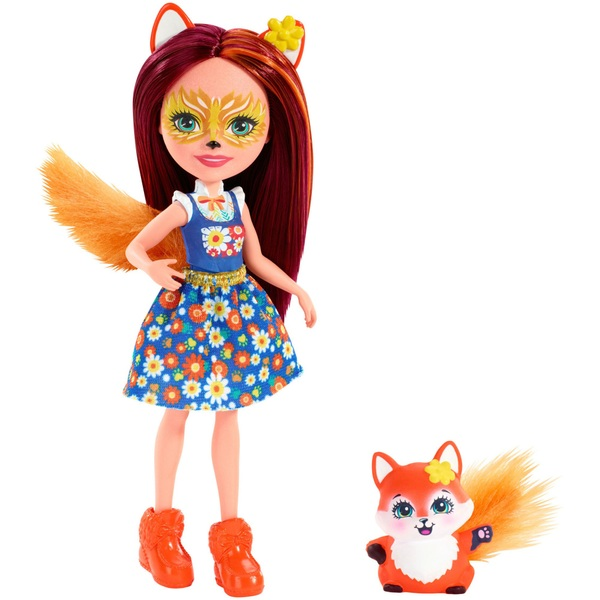 Enchantimals Felicity Fox Doll with Fox Figure